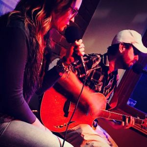May Rocket Acoustic Duo Perform Live